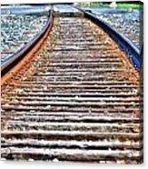 0002 Train Tracks Acrylic Print
