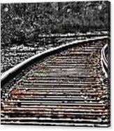0003 Train Tracks Acrylic Print