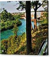 001 Niagara Gorge Trail Series  Acrylic Print