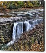 0016 Letchworth State Park Series  Acrylic Print