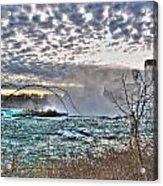 0018 View Of Horseshoe Falls From Terrapin Point Series Acrylic Print