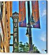 002 Sheas Buffalo Acrylic Print