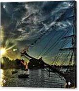 002 Uss Niagara 1813 Series  Acrylic Print