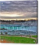 002 View Of Horseshoe Falls From Terrapin Point Series Acrylic Print