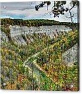 0021 Letchworth State Park Series   Acrylic Print