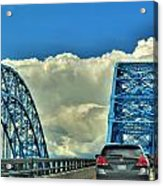 005 Grand Island Bridge Series  Acrylic Print