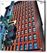 005 Guaranty Building Series Acrylic Print
