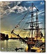 005 Uss Niagara 1813 Series  Acrylic Print