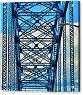 007 Grand Island Bridge Series  Acrylic Print