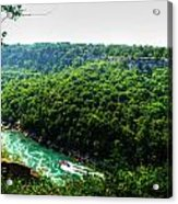 007 Niagara Gorge Trail Series  Acrylic Print