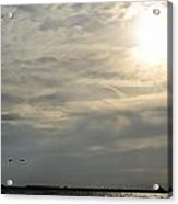 007 When Feeling Down  Pick Your Head Up To The Skies Series Acrylic Print