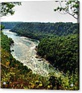 009 Niagara Gorge Trail Series  Acrylic Print