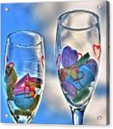 01 Love Is In The Air Acrylic Print