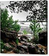 01 Three Sisters Island Acrylic Print