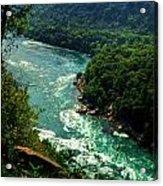 011 Niagara Gorge Trail Series  Acrylic Print