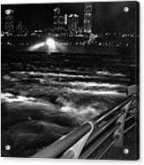 012 Niagara Falls Usa Rapids Series Acrylic Print