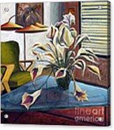 01254 Mid-century Modern Acrylic Print
