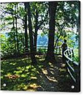 012a Niagara Gorge Trail Series  Acrylic Print