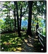 012b Niagara Gorge Trail Series  Acrylic Print