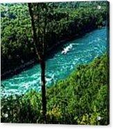 013 Niagara Gorge Trail Series  Acrylic Print