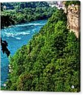 014 Niagara Gorge Trail Series  Acrylic Print
