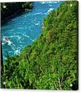 017 Niagara Gorge Trail Series  Acrylic Print