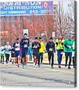 017 Shamrock Run Series Acrylic Print
