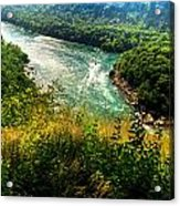 019 Niagara Gorge Trail Series  Acrylic Print