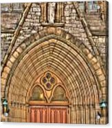 02 Church Doors Acrylic Print