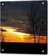 02 Sunset Acrylic Print