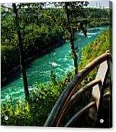 020 Niagara Gorge Trail Series  Acrylic Print