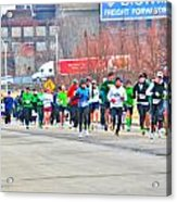 020 Shamrock Run Series Acrylic Print