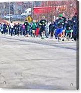 026 Shamrock Run Series Acrylic Print