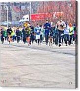 027 Shamrock Run Series Acrylic Print