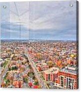 031 Series Of Buffalo Ny Via Birds Eye West Side Acrylic Print