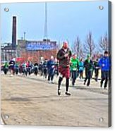 037 Shamrock Run Series Acrylic Print
