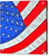 05 American Flag Acrylic Print