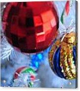 05 Christmas Card Acrylic Print
