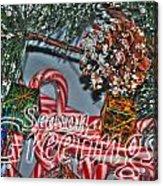 06 Christmas Cards Acrylic Print