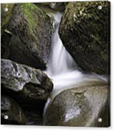 0706-0138 Smith Creek Rocks Acrylic Print