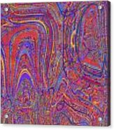 0708 Abstract Thought Acrylic Print