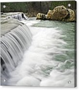 0804-0012 Six Finger Falls 1 Acrylic Print by Randy Forrester