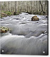 0804-0122 Rolling Creek Of The Ozark Mountains Acrylic Print