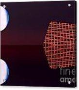 Planet Eye Acrylic Print by Odon Czintos