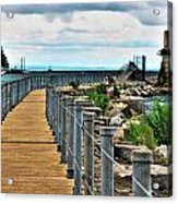 001 Peace Bridge Series Acrylic Print