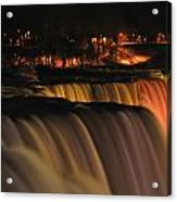 01 Niagara Falls Usa Series Acrylic Print