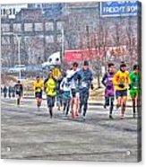 01 Shamrock Run Series Acrylic Print