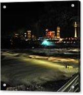 010 Niagara Falls Usa Rapids Series Acrylic Print