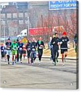 013 Shamrock Run Series Acrylic Print