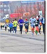 014 Shamrock Run Series Acrylic Print